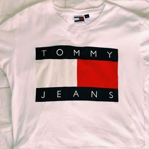 tommy hilfiger jeans crop top